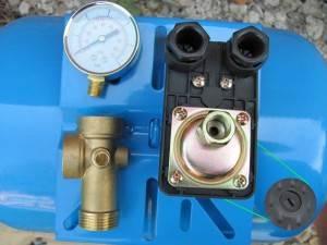 Реле давления воды для насоса подключение