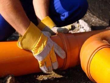 Труба канализационная для наружных работ