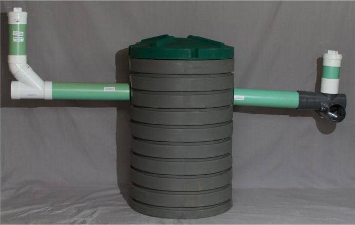 пластиковый колодец для канализации
