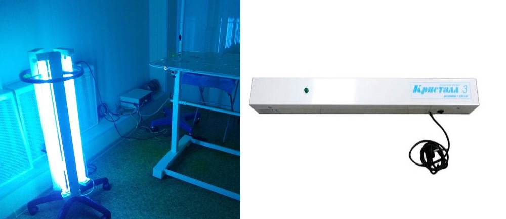 Ультрафиолет в домашних условиях