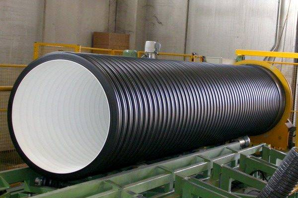 Гофрированная труба ПНД с гладкой внутренней поверхностью
