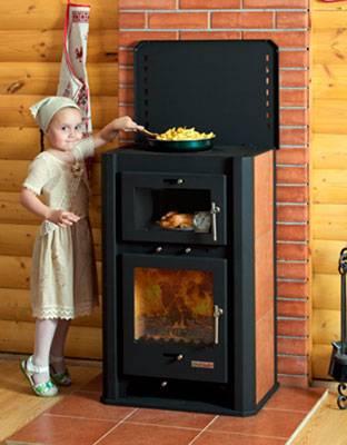 Печи отопления для дачи на дровах