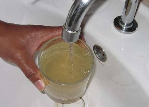 Почему вода в колодце мутная