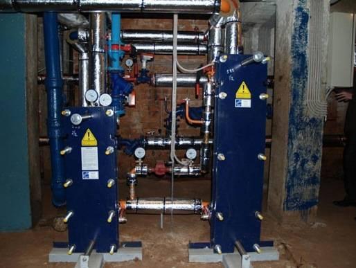 Зависимая и независимая система отопления