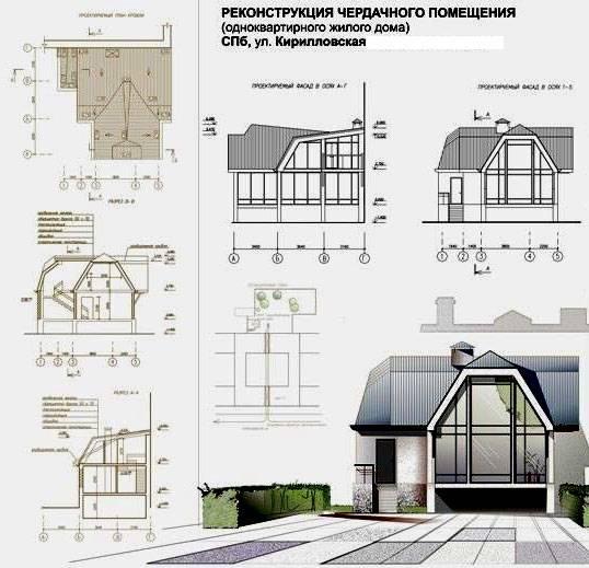 Проект деревенского дома с печкой
