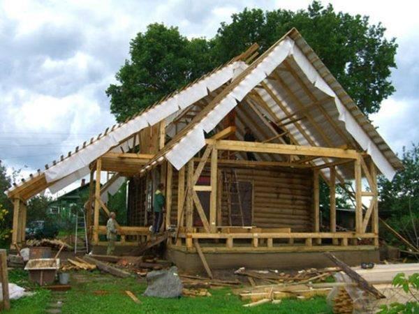 Реконструкция деревенского дома