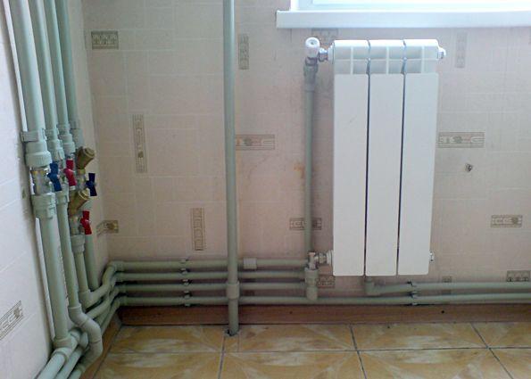 Газовое отопление в квартире