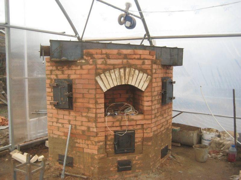 Пиролизная печка