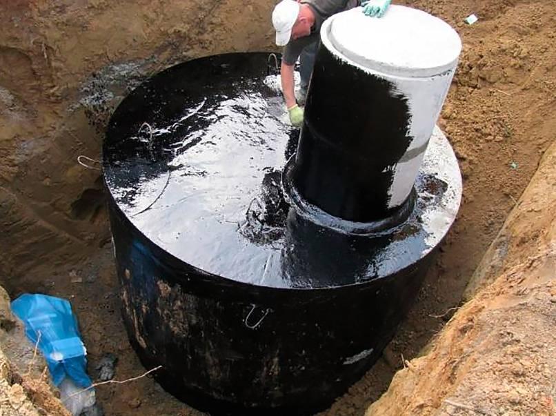 Гидроизоляция колодца изнутри от грунтовых вод