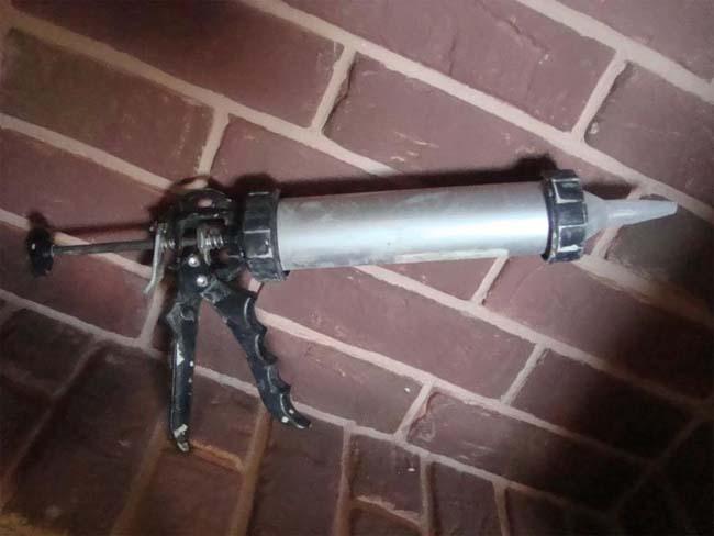 пистолет для затирочной смеси