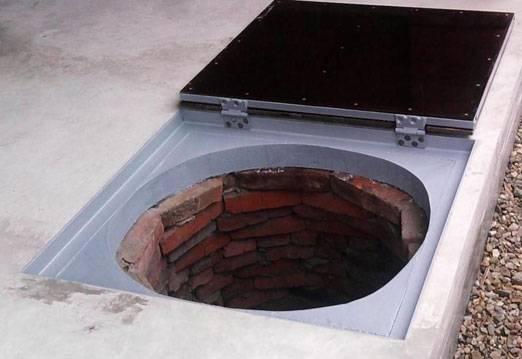 Крышки люка на колодцы водопроводные и канализационные