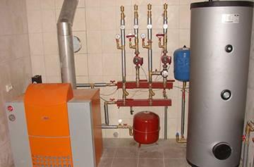 Система газового отопления