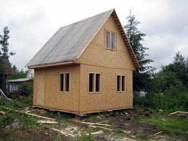 Утепление щитового дома снаружи