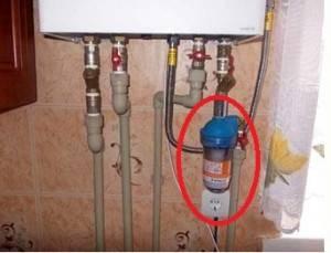 Устройство двухконтурного настенного газового котла