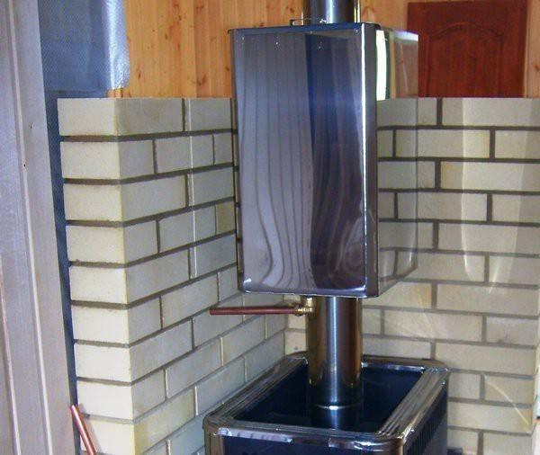 Круглая печь для бани