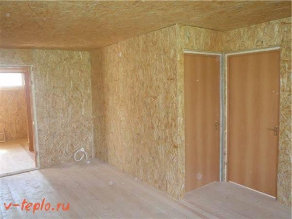 Теплоизоляция каркасного дома