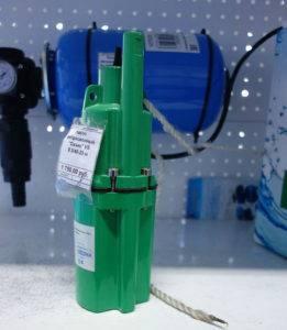 Прокачка скважины вибрационным насосом