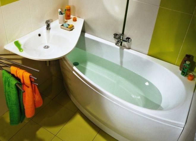 Какие размеры акриловых ванн бывают