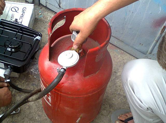 Газовый котел на пропане