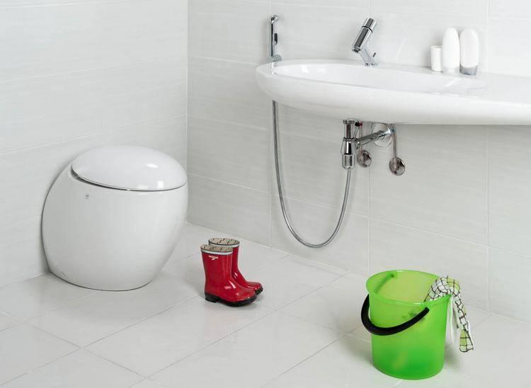 Как сделать гигиенический душ в туалете