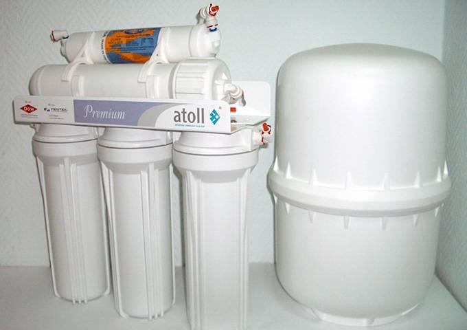 Лучшие проточные фильтры для воды