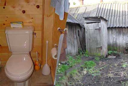 унитаз-туалет-деревенский
