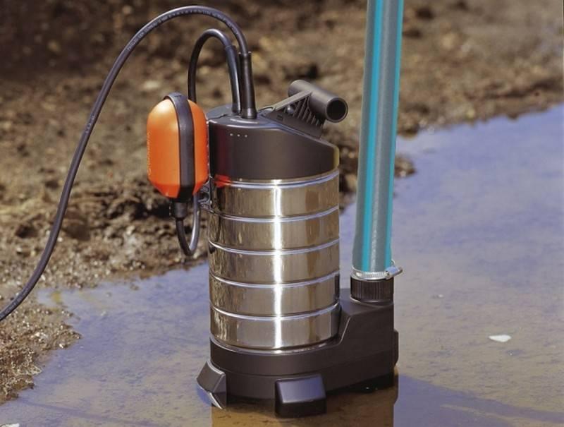 Самовсасывающие насосы для грязной воды