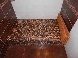 Трап в ванной комнате