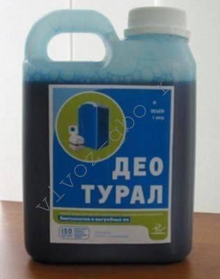 Антисептик для выгребных ям с химическим составом