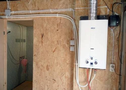 Монтаж проточного водонагревателя своими руками