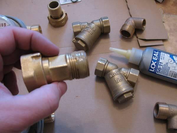 Сетчатый фильтр для воды грубой очистки