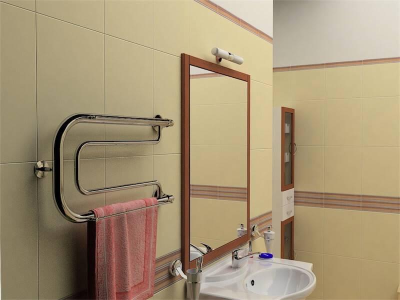 Замена полотенцесушителя в ванной комнате