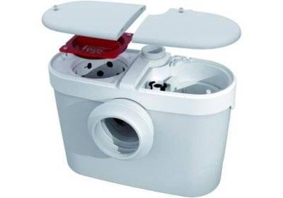 Наружный санитарный насос для канализации с эстетичным дизайном