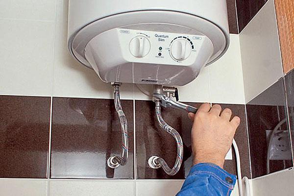 Самостоятельная установка накопительного водонагревателя