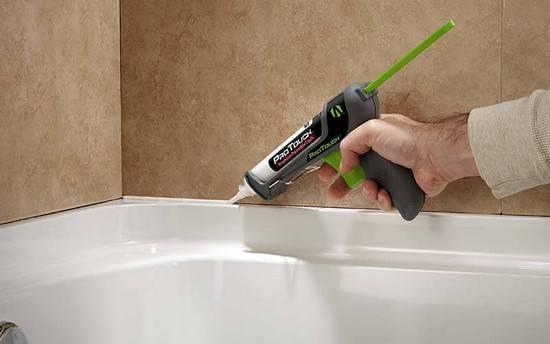 Сколько сохнет силиконовый герметик для ванной