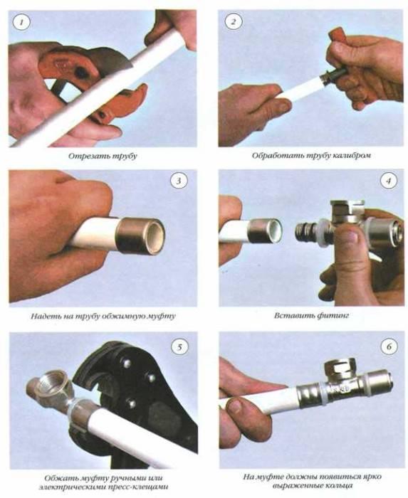 Металлопластиковые трубы для отопления технические характеристики