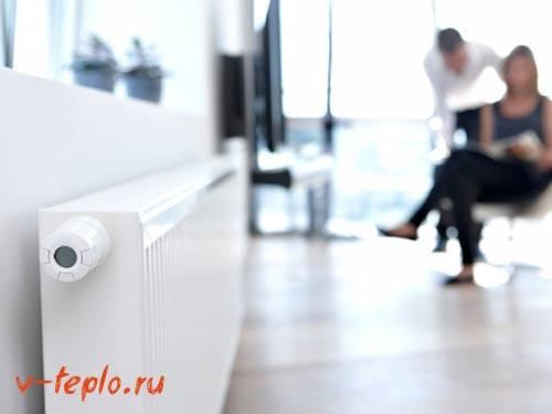 Регулятор температуры воды в системе отопления