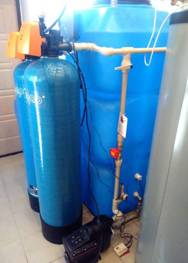 Фильтр от железа в воде для дачи