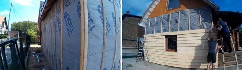 Чем лучше утеплить деревянный дом