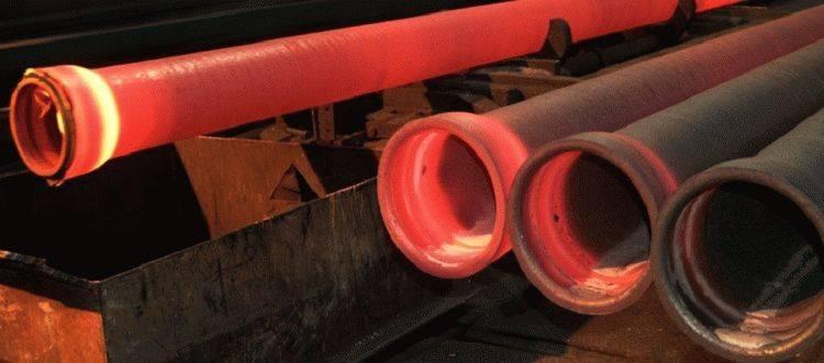 Труба чугунная канализационная производство