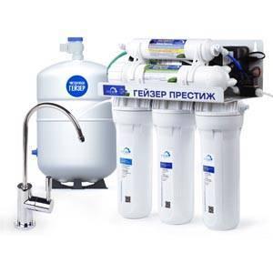 Фильтрация воды в частном доме