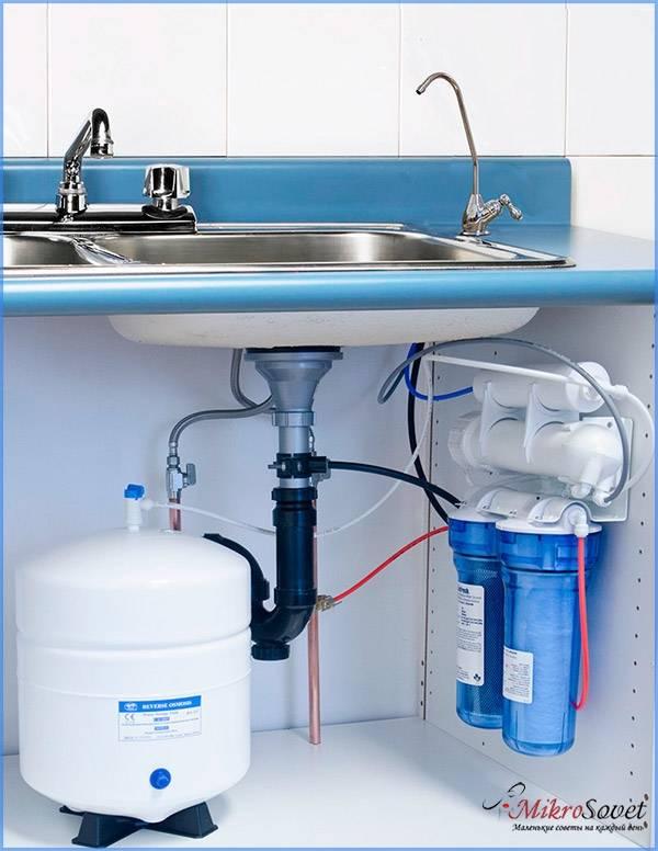 Фильтр воды для квартиры