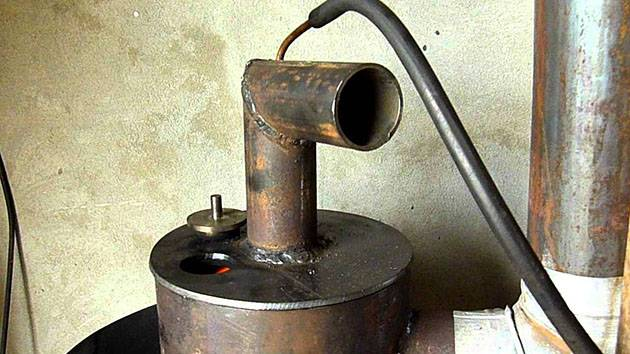 Печка дизельная