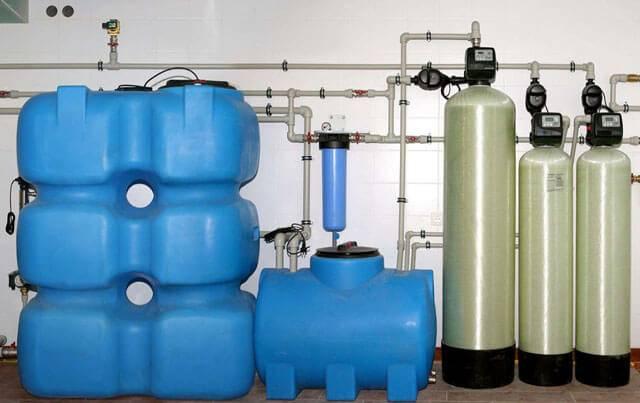 Станция обезжелезивания воды своими руками