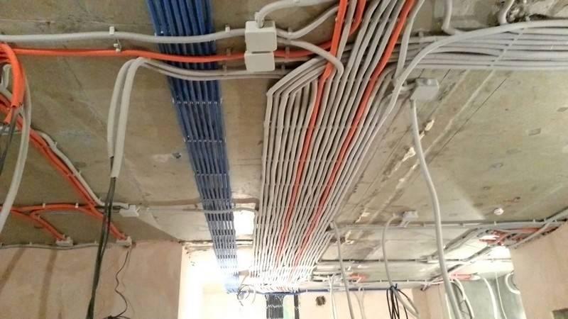 Устройство электропроводки в частном доме