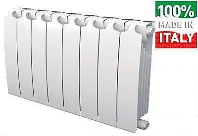 Биметаллические радиаторы отопления характеристики