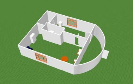 Проекты домов с печкой посередине