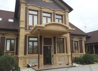 Фасад дома своими руками