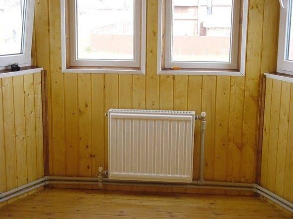 Виды подключения радиаторов отопления в частном доме