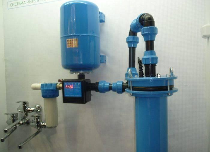 Как подключить воду из скважины к дому